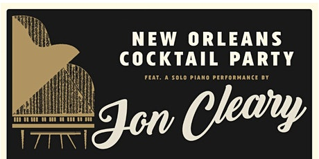 SOLD OUT: New Orleans Cocktail Party at Dawes House w/ a performance by Jon Cleary @ Out of Space: Evanston History Center - Dawes House tickets