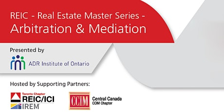 REIC Master Series - Arbitration & Mediation tickets