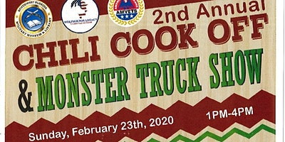 2nd Annual Chili Cook Off & Monster Truck Show