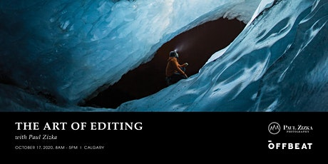 The Art of Editing with Paul Zizka – Calgary tickets