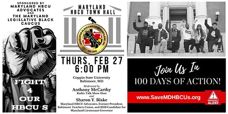 Maryland HBCU Town Hall tickets