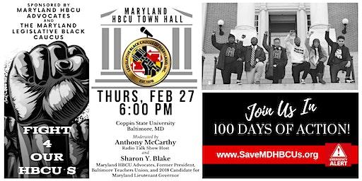 Maryland HBCU Town Hall