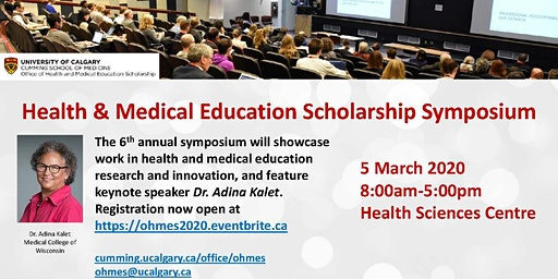 Health & Medical Education Scholarship Symposium 2020