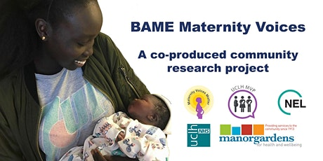 BAME Maternity Voices | Co-produced community research tickets
