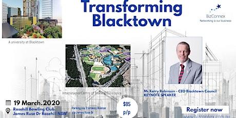 Transforming Blacktown tickets