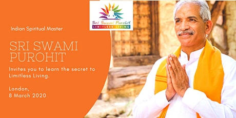 Learn the Secret to Limitless Living with Sri Swami Purohit tickets