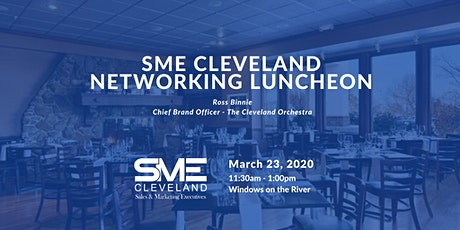 SME Lunch: The Battle Against Aging Audiences at The Cleveland Orchestra tickets