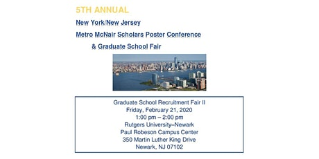 NY/NJ Metro McNair Graduate School Fair II tickets