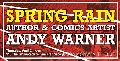 Spring Rain: Author and Comics Artist Andy Warner