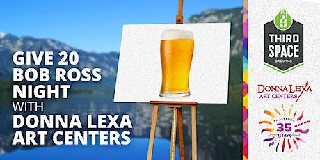 Bob Ross Night to Support Donna Lexa Art Centers tickets