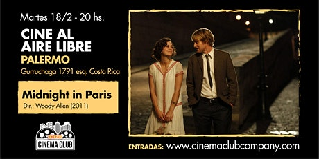 Cine al Aire Libre: MEDIANOCHE EN PARIS (2011) - Martes 18/2 entradas