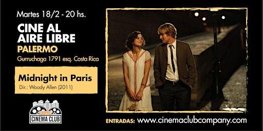 Cine al Aire Libre: MEDIANOCHE EN PARIS (2011) - Martes 18/2