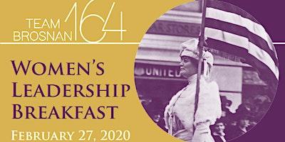 Team Brosnan 164 Women's Leadership Breakfast