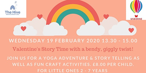 Valentines Storytime with bendy, giggly twist! [2-7yr olds]