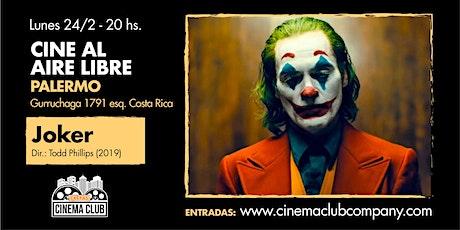 Cine al Aire Libre: JOKER (2019) - Lunes 24/2 entradas