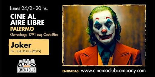 Cine al Aire Libre: JOKER (2019) - Lunes 24/2