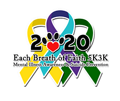 6th Annual Each Breath of Faith 5k3k 2020
