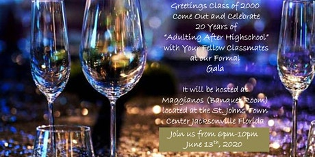 Sandalwood High School 20th Reunion Gala tickets