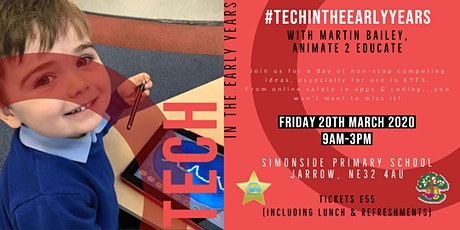 Tech in the Early Years - POSTPONED (new date TBC) tickets