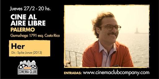 Cine al Aire Libre: HER (2013) - Jueves 27/2