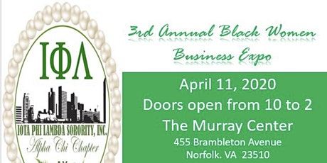 Third Annual Black Women's Business Expo tickets