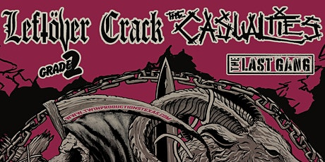Leftover Crack / The Casualties tickets