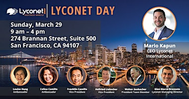 Lyconet Day with Mario Kapun
