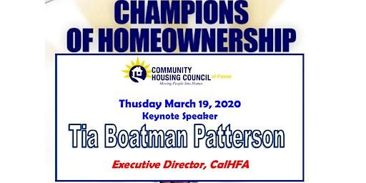 Champions of Homeownership Awards Banquet