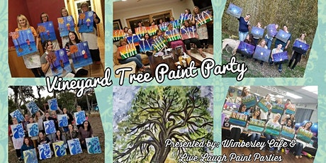 Vineyard Tree Paint Party at Wimberley Cafe tickets