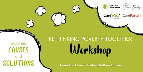 CarePortal Rethinking Poverty Together Workshop tickets