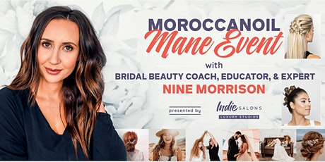 Moraccanoil Mane Event - Hands On Updo Class tickets