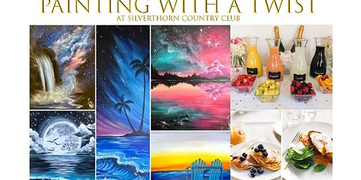 Painting with a Twist Mimosa Bar and Brunch!