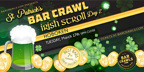 Barcrawls.com Presents Hoboken St. Patrick's Day Block Party Day 2 tickets