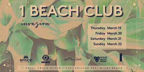 The 1 Beach Club Invasion - All Access Pass tickets