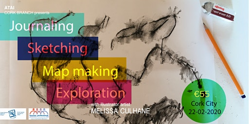 Journaling Sketching Map Making Exploration -  Illustrator Melissa Culhane