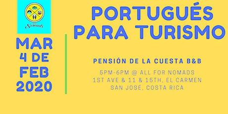 Curso (gratuito) de Portugués para Turismo tickets