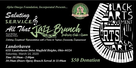 Saluting S.E.R.V.I.C.E. & All That Jazz Brunch tickets