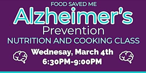 FREE Nutrition Class: Alzheimer's Prevention