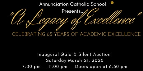 65th Anniversary ACS Gala - A Legacy of Excellence  tickets