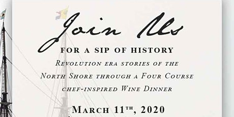 A Sip of History, Turner's at Lyceum Hall Spring Wine Dinner tickets