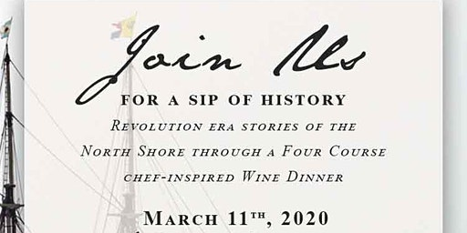 A Sip of History, Turner's at Lyceum Hall Spring Wine Dinner