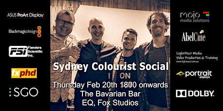 Sydney Colourist Social tickets