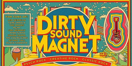 Dirty Sound Magnet - The Wee Red Bar, Edinburgh tickets