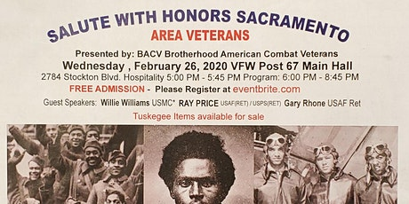 SALUTE WITH HONORS SACRAMENTO tickets