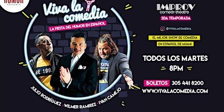 Viva la Comedia - La fiesta del humor en espanol! boletos