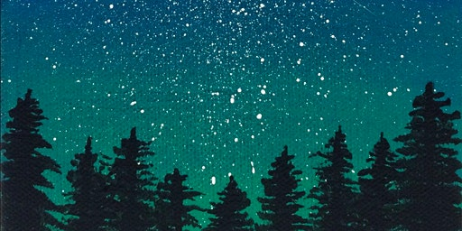 Paint + Coffee Social: A MN Starry Night