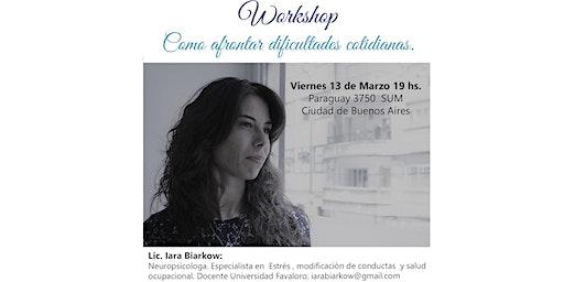 Workshop - Como afrontar dificultades cotidianas