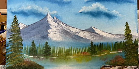Bob Ross Painting Workshop-Mountain Reflections tickets