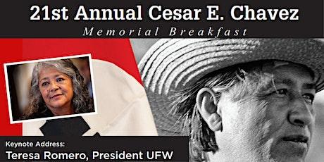 21st Annual Cesar E. Chavez Memorial Breakfast tickets
