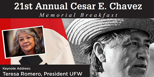 21st Annual Cesar E. Chavez Memorial Breakfast